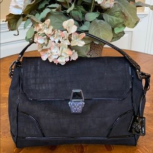 NWOT-Rare Tory Burch Black Bag